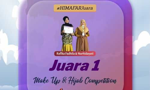 Juara 1 Make Up & Hijab Competition PIL MIPA XX